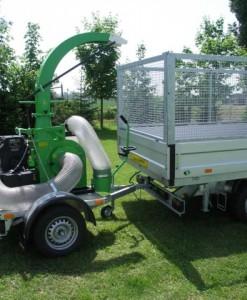 Usisavač lišča, trave i komunalnog otpada Laski VD 500 / 18 2