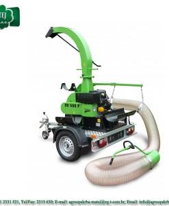 Usisavač lišča, trave i komunalnog otpada Laski VD 500 / 27 1
