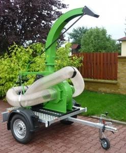 Usisavač lišča, trave i komunalnog otpada Laski VD 500 / 27 2