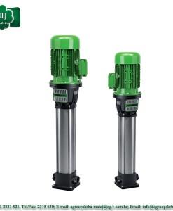 """Električne vertikalne pumpe Rovatti serije """"MEKVT"""" 1"""