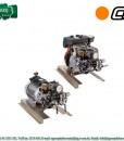 """Prskalica s elektro ili benzin motorom Comet serija """"MTP APS 51″ 1"""