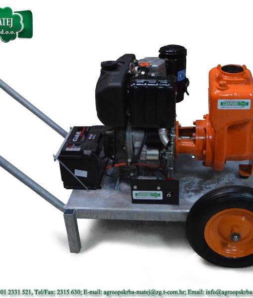 Pumpa za vodu motorna Agromatej MMV 1200/35 2