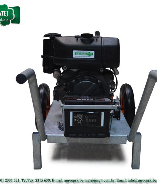 Pumpa za vodu motorna Agromatej MMV 1200/35 3