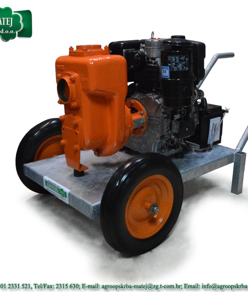 Pumpa za vodu motorna Agromatej MMV 1200/35 4