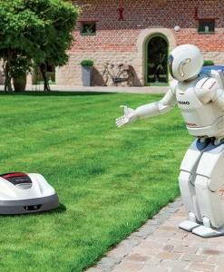 Robotska kosilica Honda MIIMO HRM 300 EAE 2