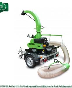 Usisavač lišča, trave i komunalnog otpada Laski VD 500 / 18 1